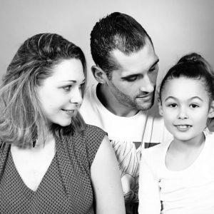 Seance photo Parents enfants Gold