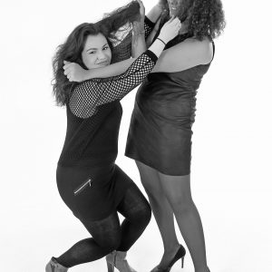 Shooting photo duo en studio